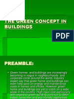The Green Concept in Buildings