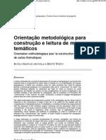 Orientação metodológica para construção e leitura de mapas temáticos