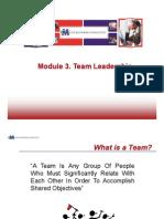Module 3 Team Leadership