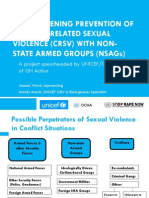 SVRIjeanne-1STRENGTHENING PREVENTION OF CONFLICT-RELATED SEXUAL VIOLENCE WITH ARMED GROUPS