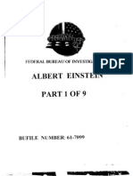 FBI File on Albert Einstein