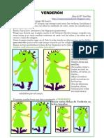 Verderón, el amigo verde del huerto