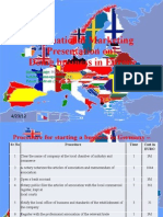 International Marketing Europe
