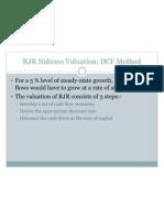 RJR Nabisco Valuation