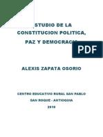Estudio de La Constitucion Politica Listo