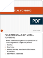Fundamentals of Metal Forming