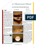 Our Lady's Montessori School Newsletter October 2011