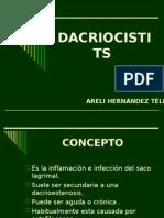 Dacriocistitis, Oftalmología.