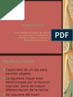 Anomalias de la agudeza visual, Oftalmología.