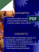 Sarampión, Pediatría.