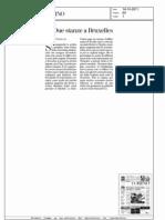 """La Stampa """"Due stanze a Bruxelles"""""""