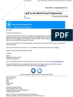 World Food Programme!