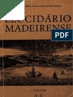 Elucidário Madeirense Vol I