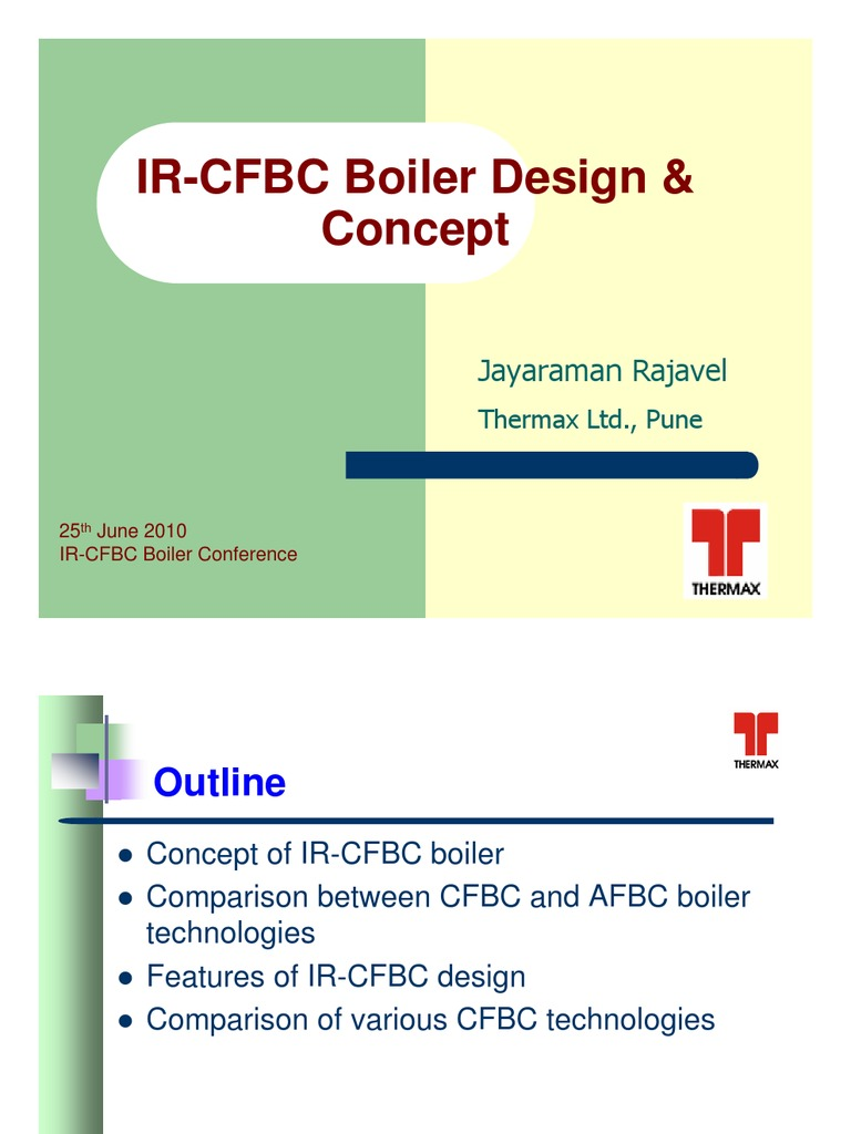 Thermax IR-CFBC Conference rajavel - Distribution Copy | Furnace |  Combustion