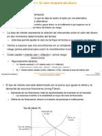 Tema V1a - Valor Temp Del Dinero