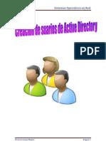 Creacion de Usuarios de Active Directorio