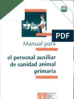 Manual Para El Personal Auxiliar de Sanidad Animal