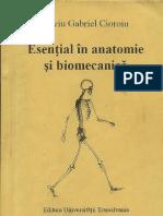 Esențiale în anatomie și biomecanică - Silviu Gabriel Cioroiu text