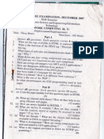 MG 6th Sem Question Papers
