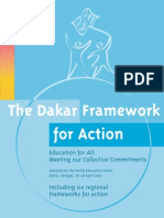 Dakar Education Framework