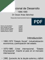 Plan Nacional de Desarrollo8690