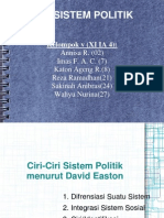 sistem politik, gabriel edmund- david easton
