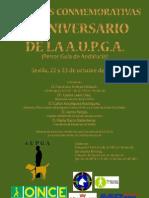 X ANIVERSARIO DE LA A.U.P.G.A.