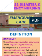 Nur 3552 Emergency Care