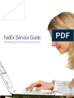 FedEx Rates Guide 2011