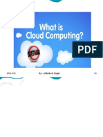 Cloud Computing by Abhishek Singh
