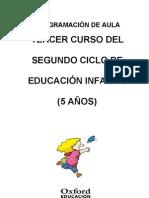 Programación aula Exploradores 5 años_Infantil Nacional