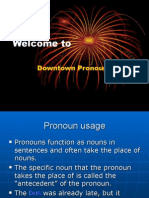 Pronouns 2007