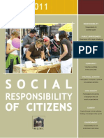Social Responsibility of Citizens 2011