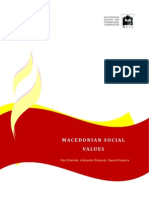 Macedonian Societal Values 2011