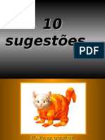 10 sugestoes