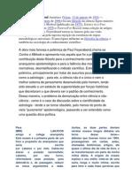 Apresentão aula IPC -Paul Karl Feyerabend