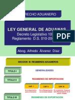 1) LEGISLACION ADUANERA (II)