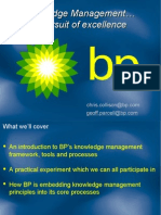Bp Knowledge Management 23587