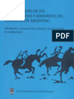 MOLLO, N. y C. DELLA MATTIA. 2009. Rastrilladas y parajes del Mamüll Mapu. UNRC. Río Cuarto