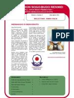 Seibukan Italia Newsletter Vol 1 Nr 1 - Agosto 2010