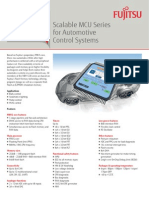 A50 - Scalable MCU Series for Automotive Control Systems