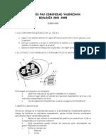 Exam Pau Bio 0105