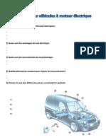 Evaluation les véhicules électriques