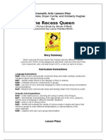 Drama Lesson Plan for the Recess Queen