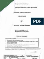 2006 Dossier réponse