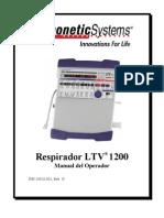 Respirador Ltv 1200 Manual Operativo Espanol