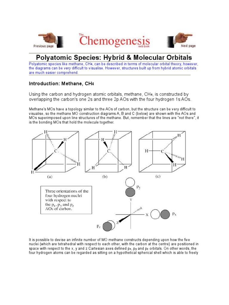 Hyberdization molecular orbital atomic orbital pooptronica