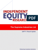 Supreme Industries Fundamental