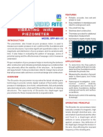 Vibrating Wire Piezometer - Product Details
