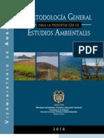 Metodologia General de Estudio de Impacto Ambiental